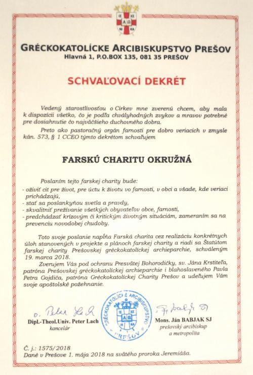 Uvedenie Farskej charity Okružná (21)